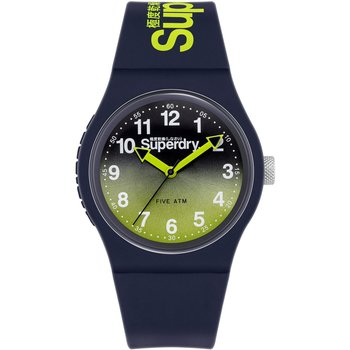 SUPERDRY Blue Silicone Strap