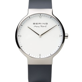 BERING Max Rene Grey Silicone