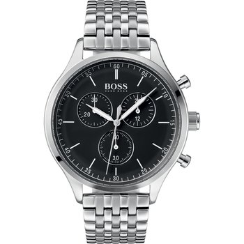 BOSS Black Chronograph Silver Stainless Steel Bracelet