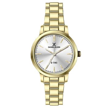 DANIEL KLEIN Ladies Gold Stainless Steel Bracelet
