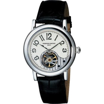 FREDERIQUE CONSTANT Automatic Black Leather Strap