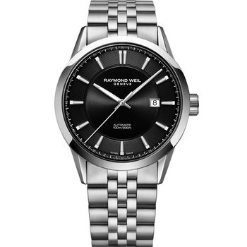 RAYMOND WEIL Freelancer Automatic Silver Stainless Steel Bracelet