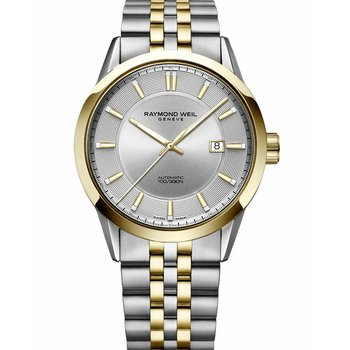 RAYMOND WEIL Freelancer Automatic Two Tone Stainless Steel Bracelet