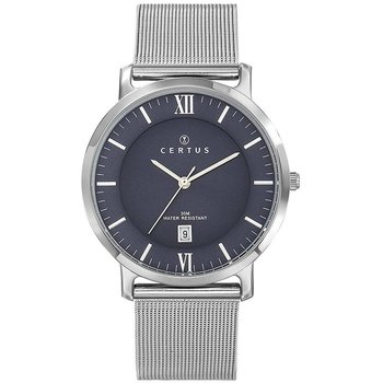CERTUS Mens Silver Stainless