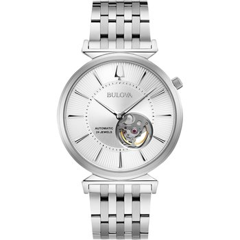 BULOVA Mechanical Collection Regatta Automatic Silver Stainless Steel Bracelet
