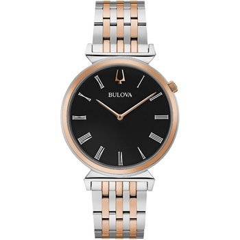 BULOVA Regatta Two Tone Stainless Steel Bracelet