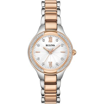 BULOVA Diamonds Two Tone