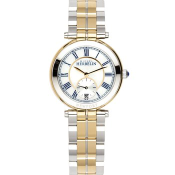 MICHEL HERBELIN Newport Classic Two Tone Stainless Steel Bracelet
