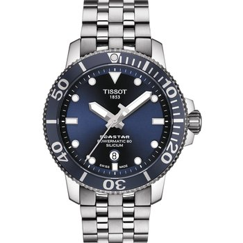 TISSOT Seastar 1000 Powermatic 80 Silver Stainless Steel Bracelet