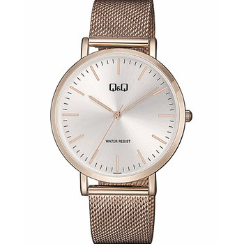 Q&Q Rose Gold Stainless Steel