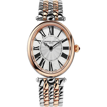 FREDERIQUE CONSTANT Classics Art Deco Two Tone Stainless Steel Bracelet