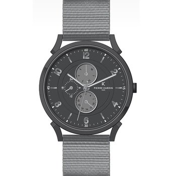 PIERRE CARDIN  Pigalle –Boulevard Grey Synthetic Strap