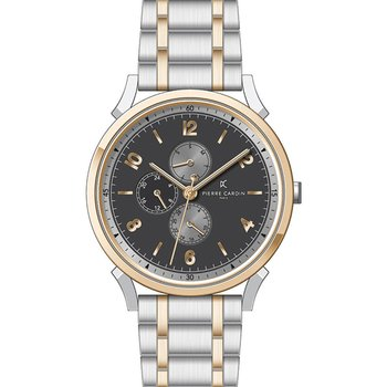 PIERRE CARDIN  Pigalle –Νine Two Tone Stainless Steel Bracelet