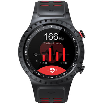 DAS.4 Smartwatch Black / Red SG12