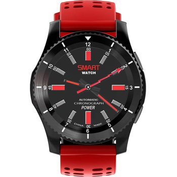 DAS.4 Smartwatch Black / Red SG10