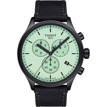 TISSOT T-Sport Chrono XL Chronograph Black Fabric Strap