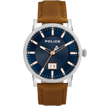 POLICE Collin Brown Leather