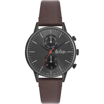 LEE COOPER Gents Brown Leather Strap