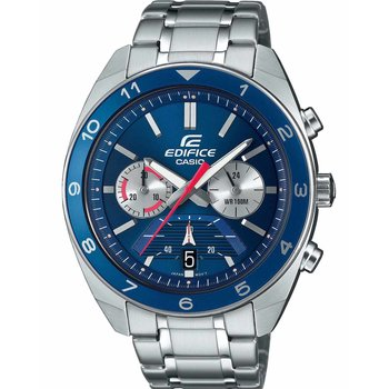 CASIO Edifice Chronograph Silver Stainless Steel Bracelet