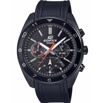 CASIO Edifice Chronograph Black Rubber Strap