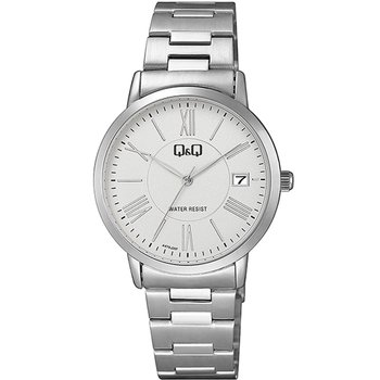 Q&Q Ladies Silver Stainless