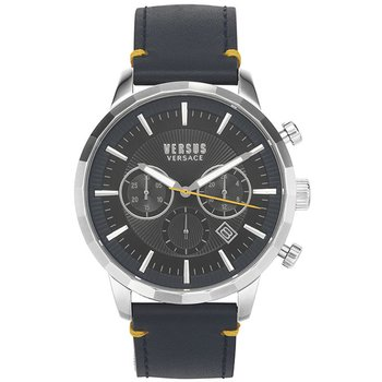 VERSUS VERSACE Eugene Chronograph Blue Leather Strap