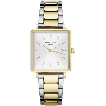 ROSEFIELD The Boxy Two Tone Stainless Steel Bracelet