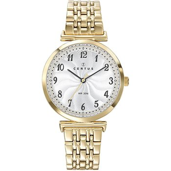 CERTUS Ladies Gold Stainless Steel Bracelet
