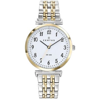 CERTUS Ladies Two Tone Stainless Steel Bracelet
