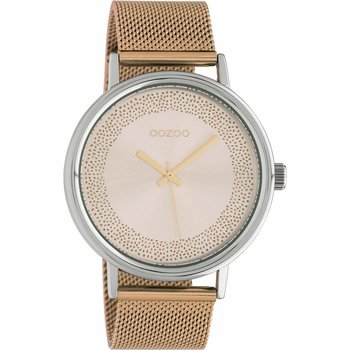 OOZOO Timepieces Rose Gold Metallic Bracelet (42mm)