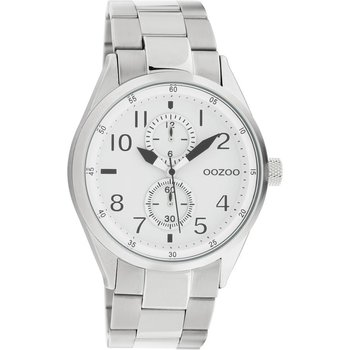 OOZOO Timepieces Silver Metallic Bracelet (42mm)