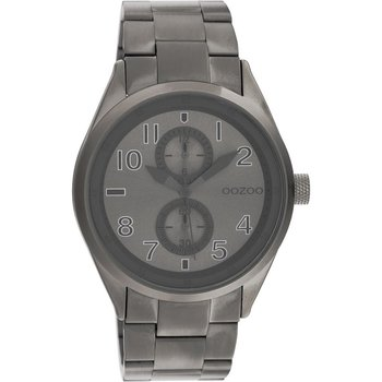 OOZOO Timepieces Grey Metallic Bracelet (42mm)