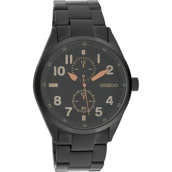 OOZOO Timepieces Black Metallic Bracelet (42mm)
