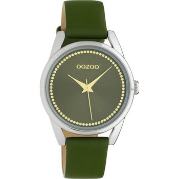 OOZOO Junior Olive Green Leather Strap (32mm)