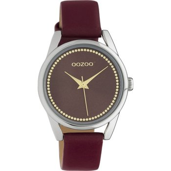 OOZOO Junior Bordeaux Leather Strap (32mm)