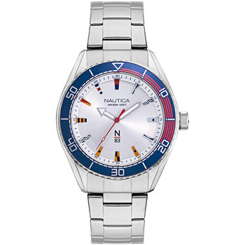 NAUTICA N83 Silver Stainless