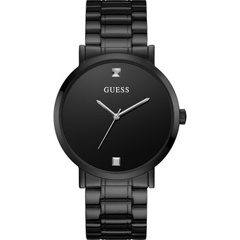 GUESS Crystals Black Stainless Steel Bracelet