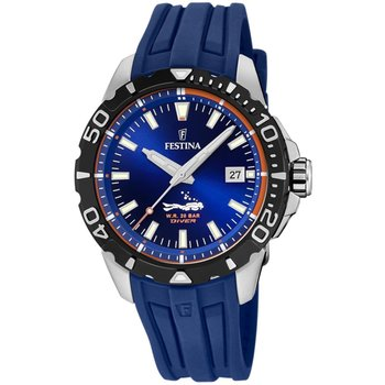 FESTINA Men's Blue Rubber