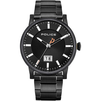 POLICE Collin Black Stainless Steel Bracelet