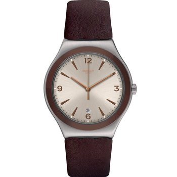 SWATCH O'Choco Brown Leather
