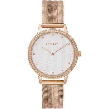 LOFTY'S Cassiopi Rose Gold Stainless Steel Bracelet