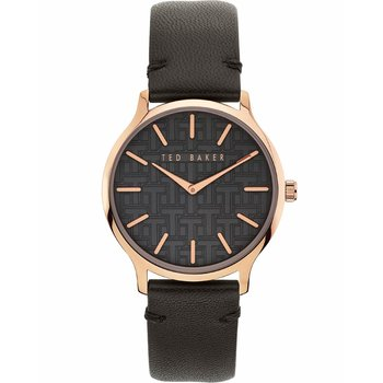 TED BAKER Poppiey Black Leather Strap