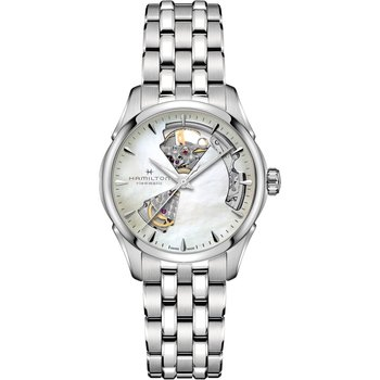 HAMILTON Jazzmaster Automatic Silver Stainless Steel Bracelet