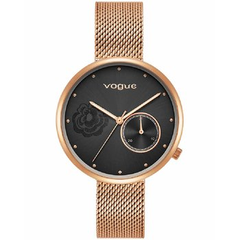 VOGUE Fiore Rose Gold Stainless Steel Bracelet