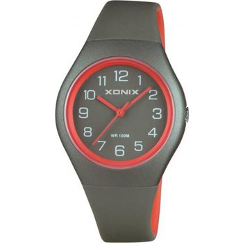 XONIX Ladies Grey Rubber Strap