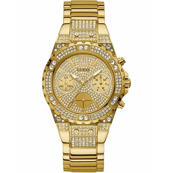 GUESS Aphrodite Crystals Gold Stainless Steel Bracelet