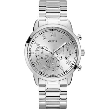 GUESS Hendrix Silver Stainless Steel Bracelet