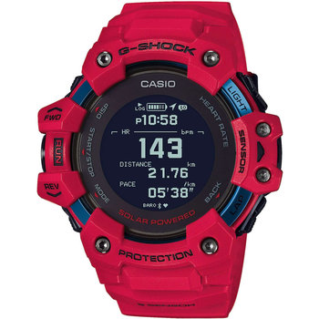 CASIO G-SHOCK Solar Chronograph Red Rubber Strap
