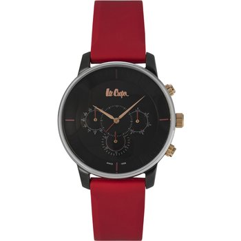 LEE COOPER Mens Red Leather Strap