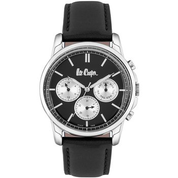 LEE COOPER Mens Black Leather Strap